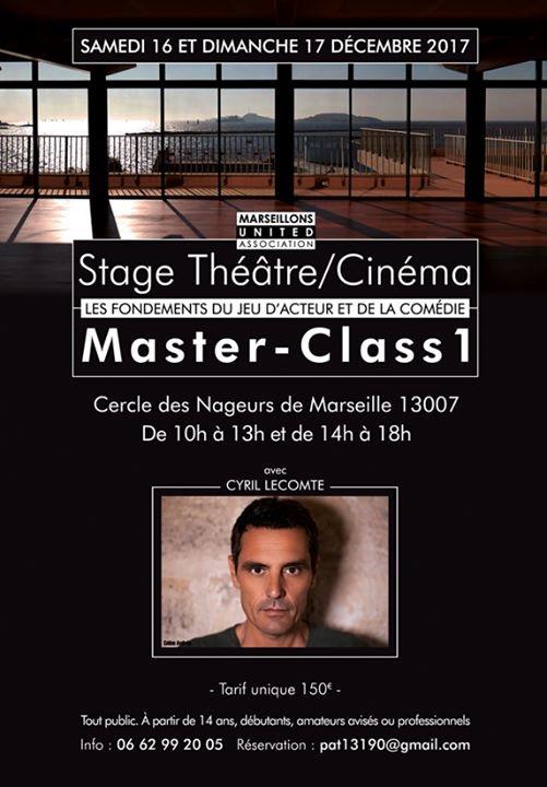 master class 1 visuel